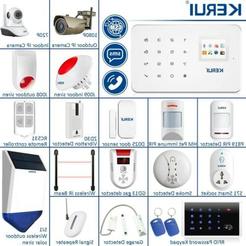 app control g18 wireless gsm home security