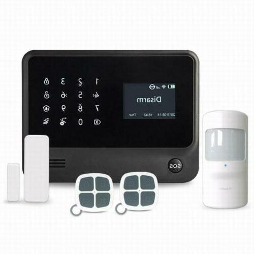 Security Intelligent Home Office Wireless GSM GPRS Alarm Sys
