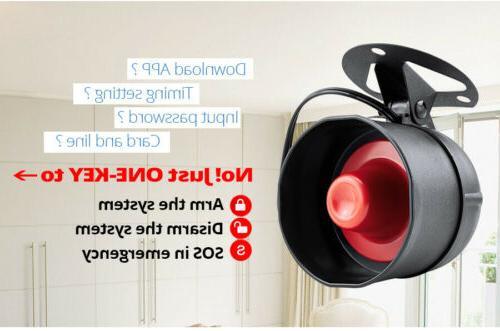 KERUI Wireless Anti-theft System Local Speaker