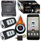 auto car alarm security system smart phone stop engine by AP