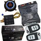 automotive car security alarm system with passwords keyless