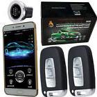 automotive engine start stop car alarm system gsm mobile app