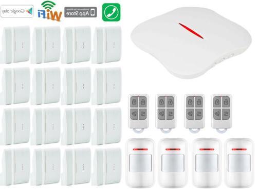 O21 IOS/Android W1 APP IP WIFI PSTN Wireless Home Security Alarm Burglar  System