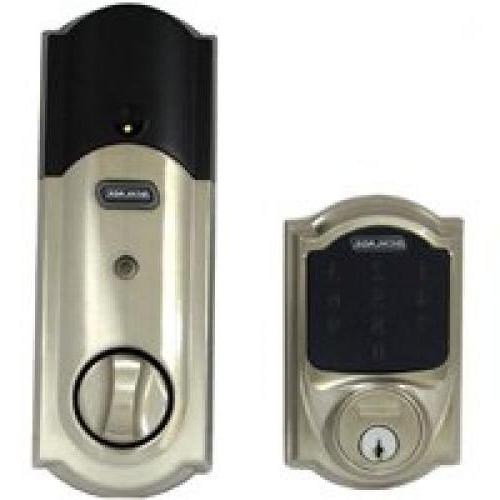 Schlage Camelot Deadbolt with Nexia Intelligence and Nickel