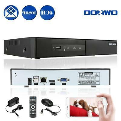 Best OWSOO 4CH 1080P P2P NVR  for Surveillance CCTV IP Camer