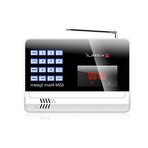 KERUI GSM Home Security Dialer Control Loud up to