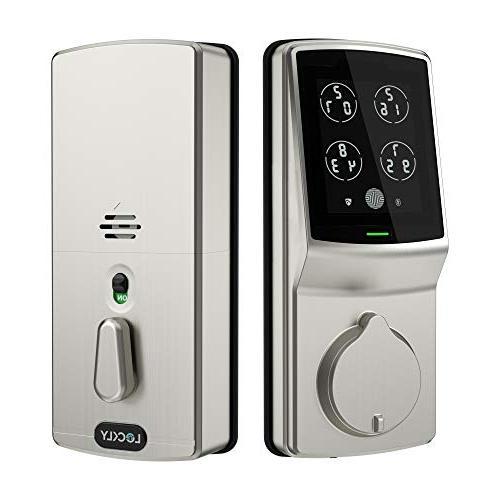 bluetooth keyless entry smart door