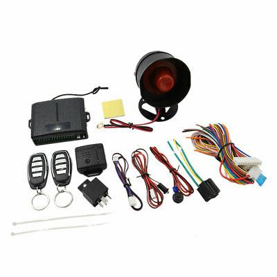 Car Alarm Security System Manual Reset Button Burglar Alarm
