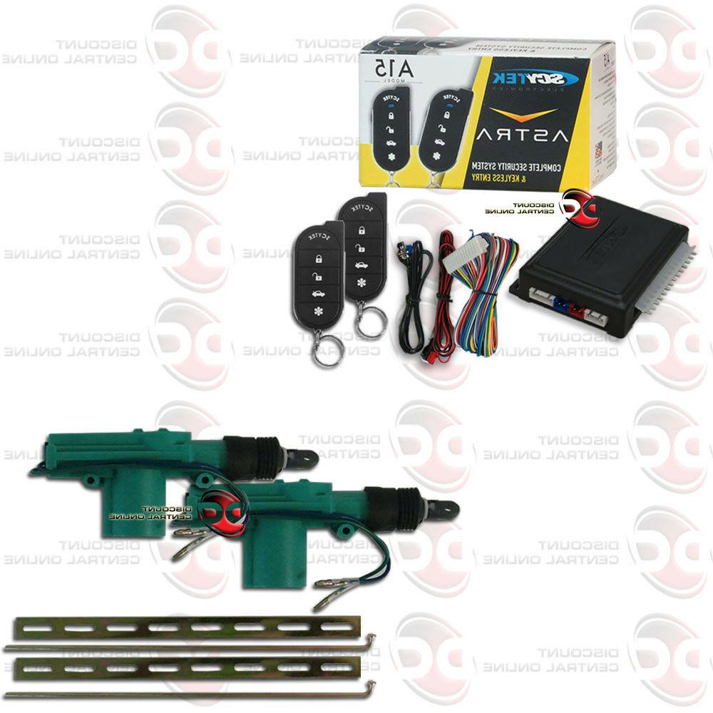 car alarm system with keyless entry plus