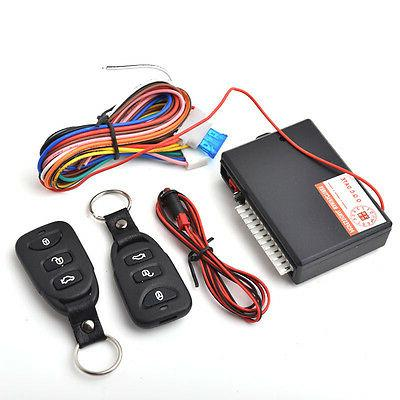 Car Remote Central Lock Locking Keyless Entry System with 2