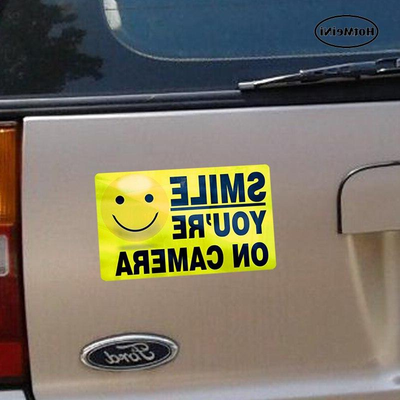"HotMeiNi Styling Car <font><b>Sticker</b></font> ""INSIDE"" YOU'RE ON Video <font><b>Alarm</b></font> 13cm*"