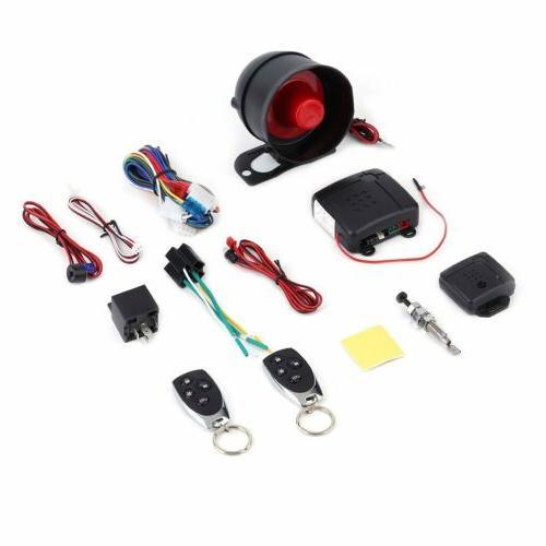 Car Vehicle Burglar Alarm Security