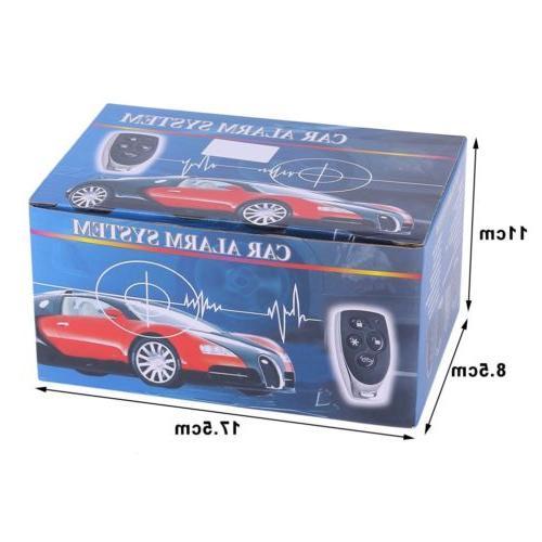 Car Vehicle Auto Alarm Security System+2 Remote