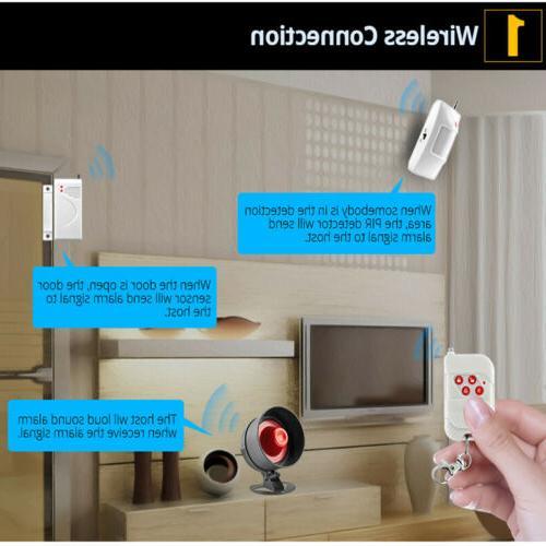 Anti-theft Siren Home System Door