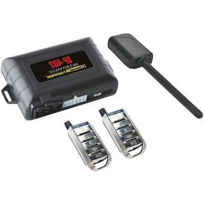 Keyless Entry and Engine Disable Crimestopper SP-402 Car Alarm with Remote Start