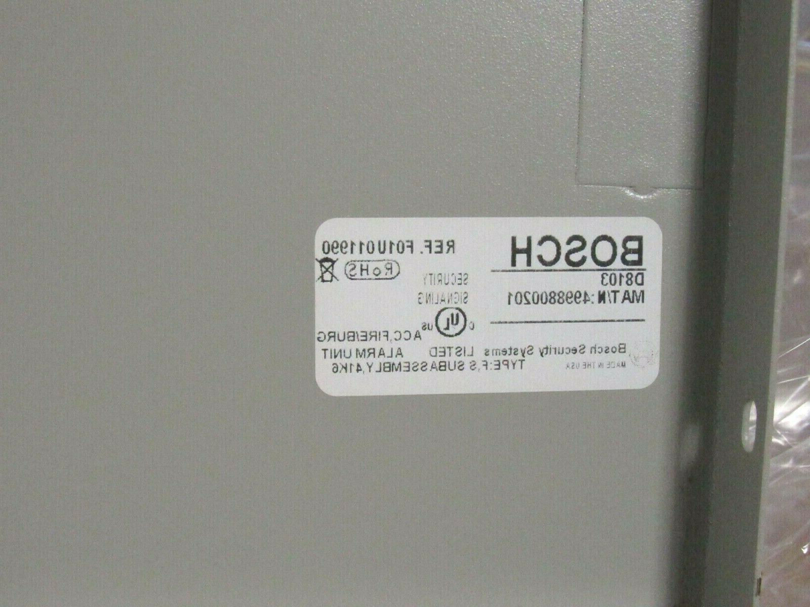 Bosch D8103 Alarm System Steel