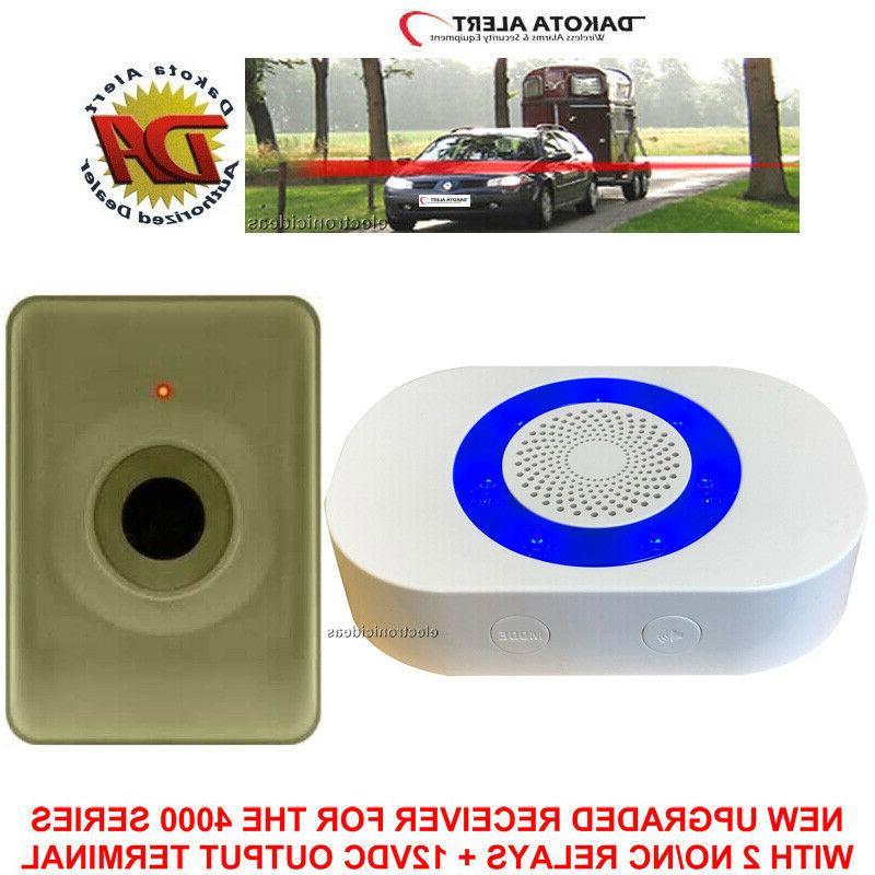 DAKOTA DCMA-4000 PLUS/DCMA-4K+ WIRELESS ALARM+RELAYS+12V SENSOR
