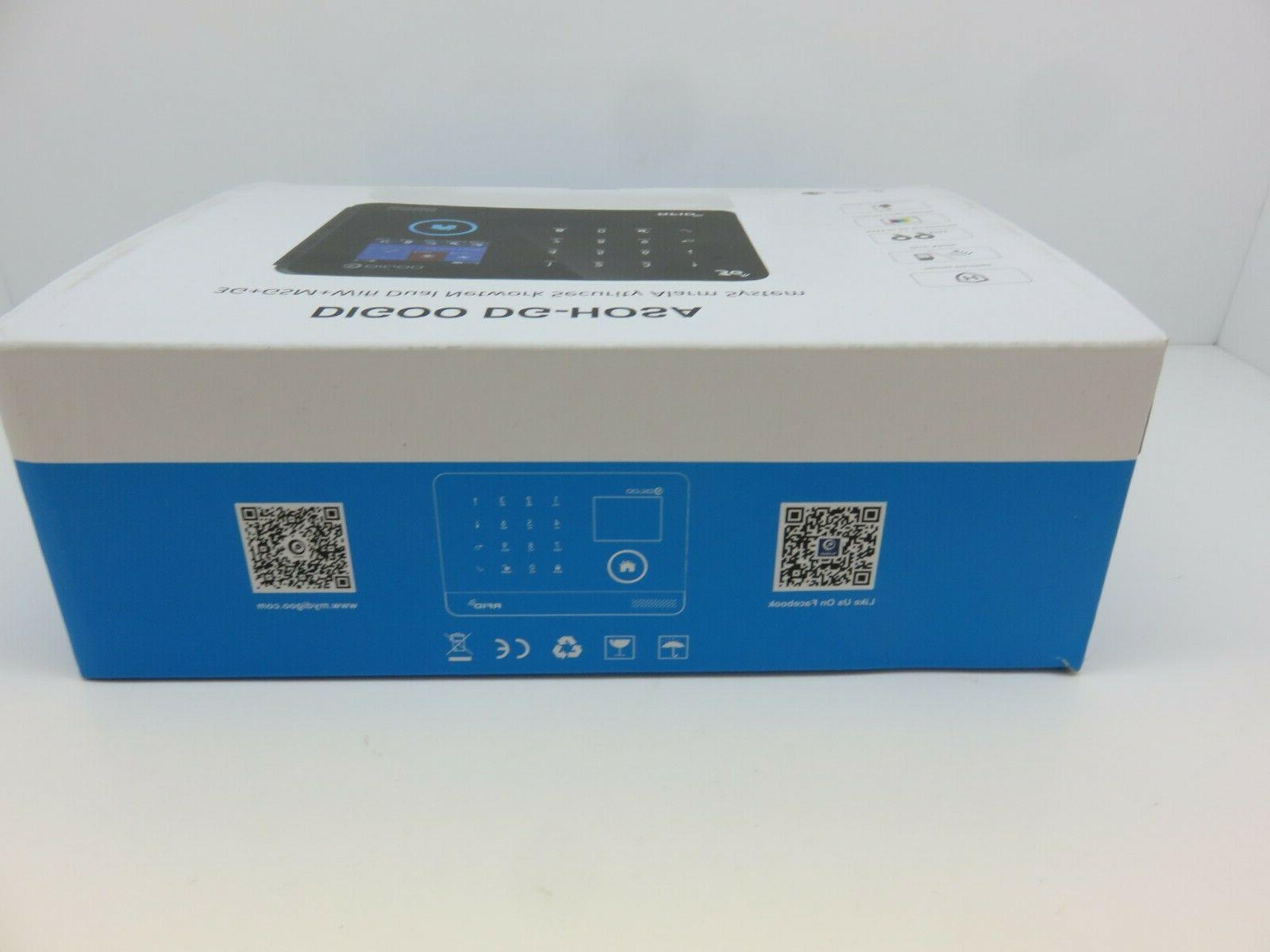 Digoo 3G&GSM&WIFI Home Alarm System