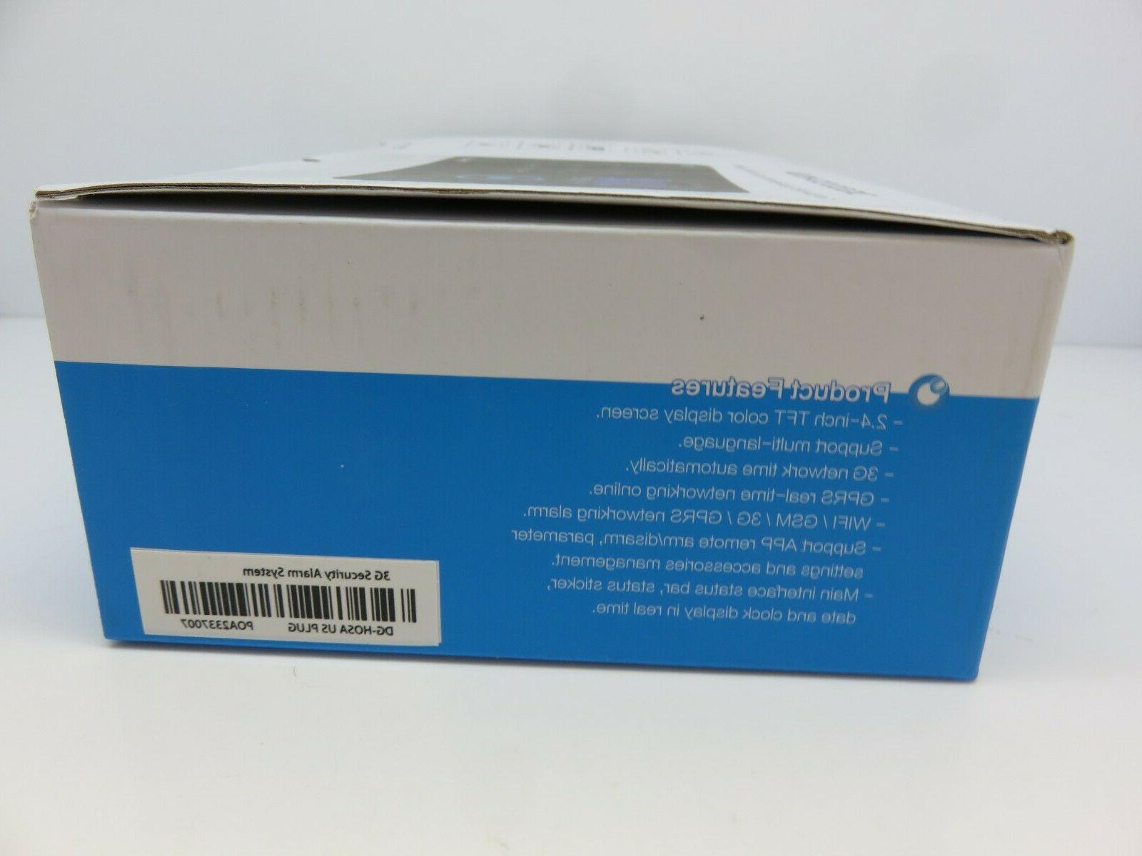 Digoo DG-HOSA 433MHz Wireless 3G&GSM&WIFI Security Alarm System