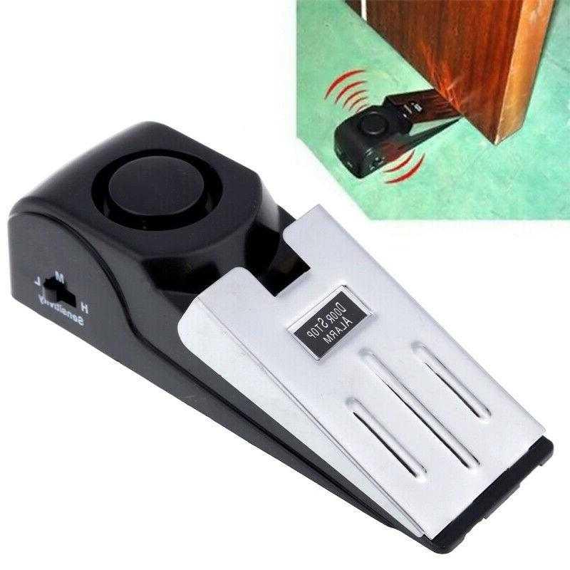 Door Stop Wireless Home Portable Wedge Alert #STOCK