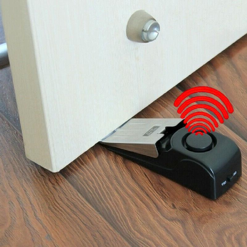 door stop alarm wireless home travel security