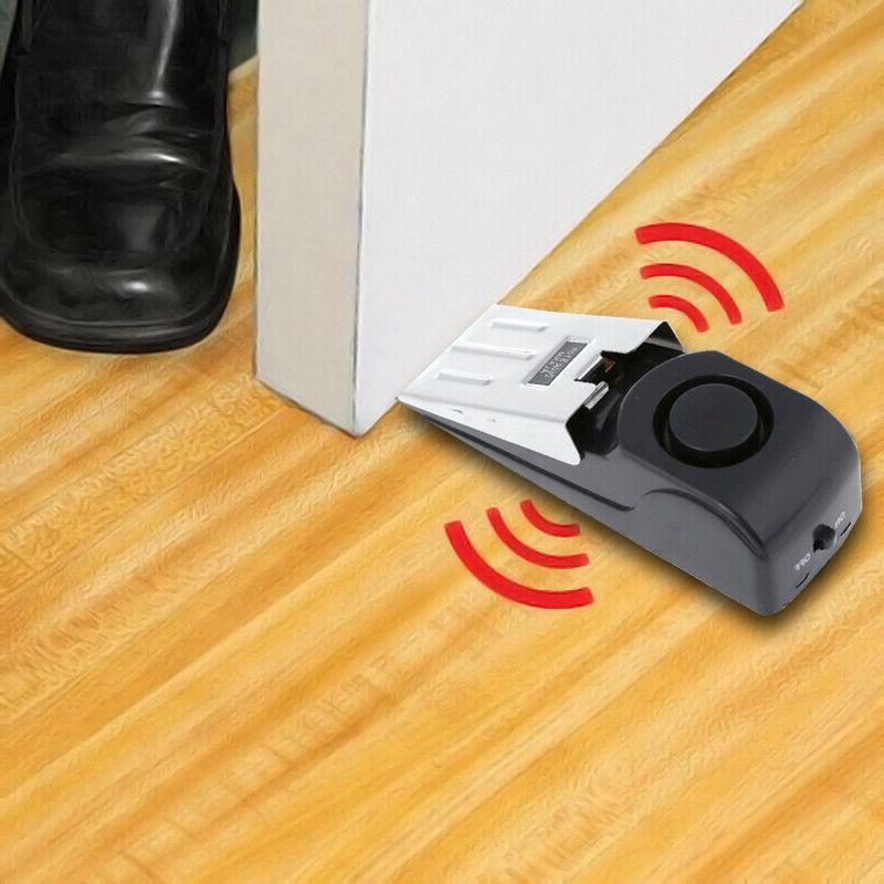Door Stop Home Travel Portable Alert Burglar