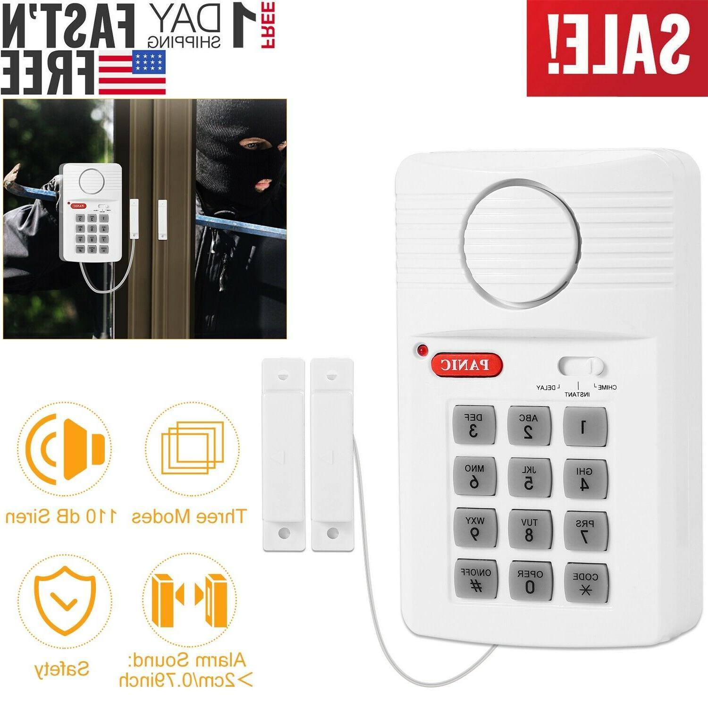 door window alarm security system home wireless