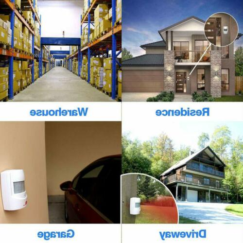 Driveway Alarm Wireless Sensor Alert System Range &