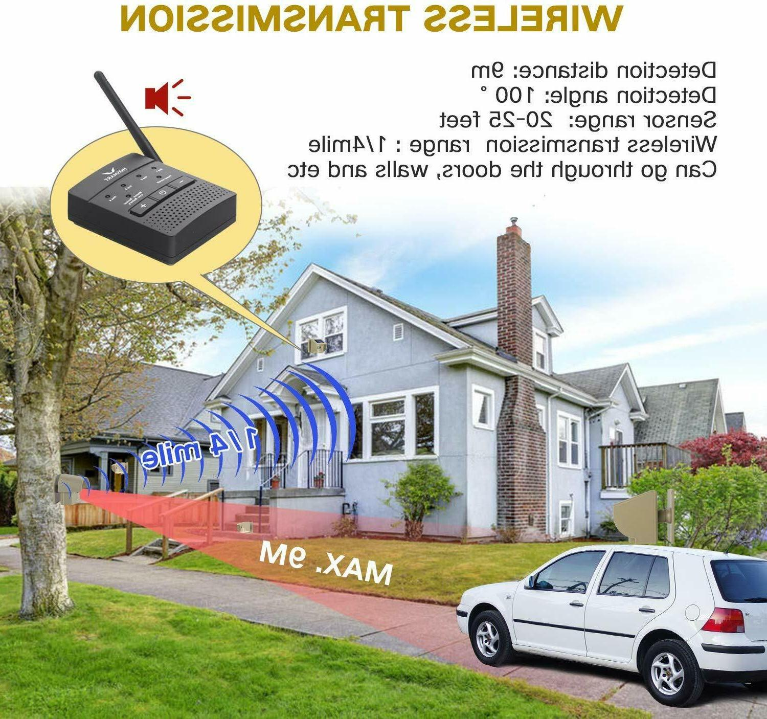 Driveway Wireless Alarm System Mile Motion