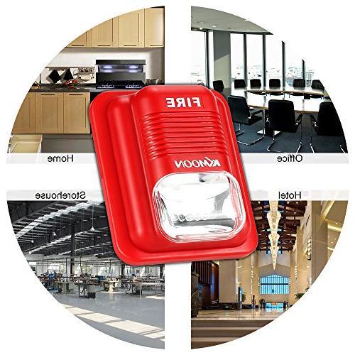 OWSOO Alarm Siren Alarm Horn Alert Security Safety for Home, ,Hotel Restaurant,etc