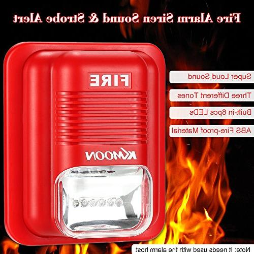 OWSOO Fire Alarm Alert Safety for Home, Restaurant,etc