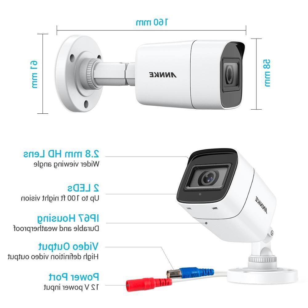 <font><b>ANNKE</b></font> 4X Ultra HD 8MP Security Night Vision Kit