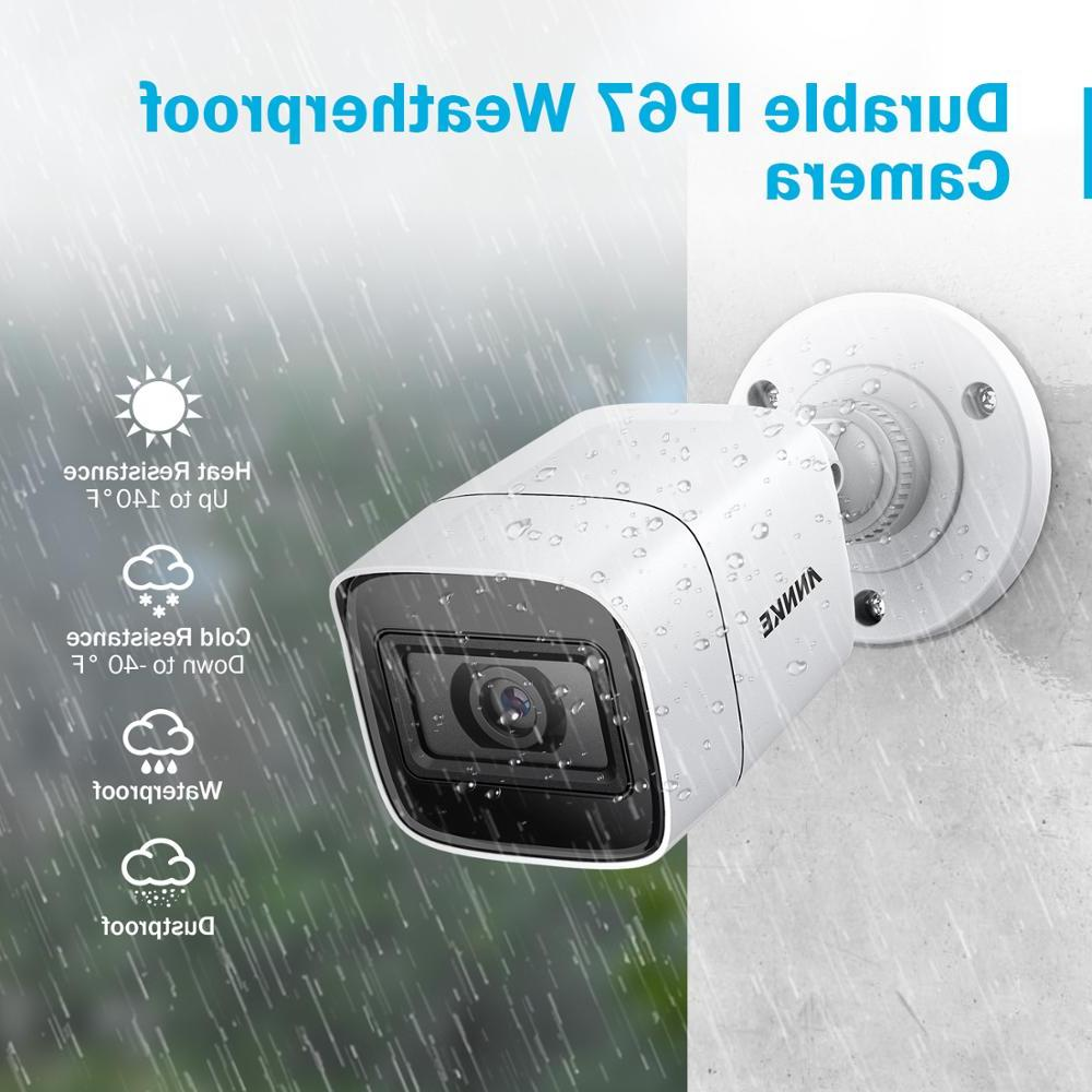 <font><b>ANNKE</b></font> 4X HD CCTV 8MP Outdoor Security Surveillance EXIR Night Kit