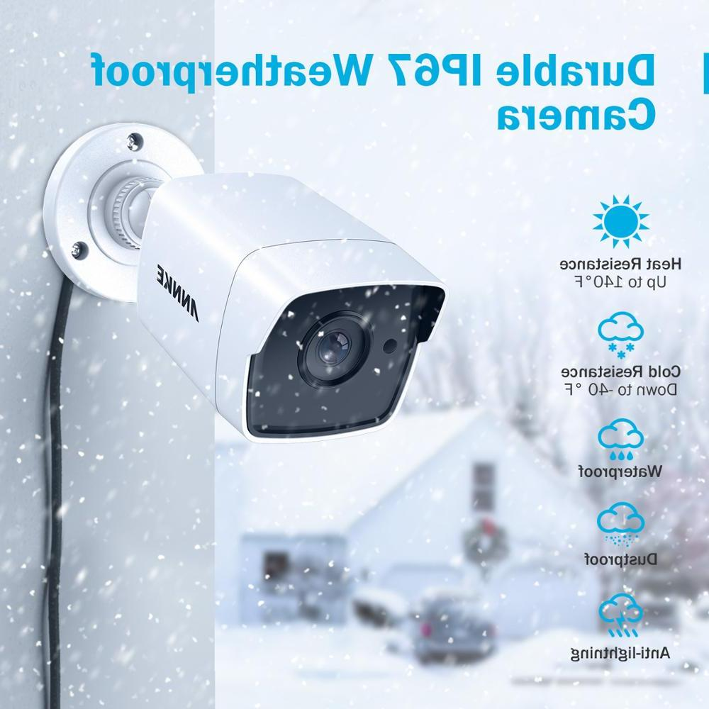 <font><b>ANNKE</b></font> 4X Ultra 5MP TVI CCTV Outdoor Weatherproof Security Surveillance System EXIR Night