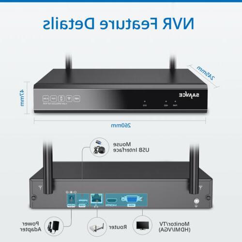 SANNCE 1080P IP Alarm