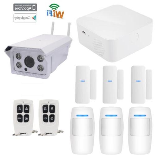 J16 APP Cloud WiFi Wireless House Home Security Alarm System