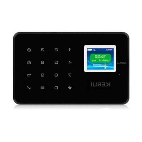 KERUI G18 Wireless Home Security GSM Burglar Alarm System Di