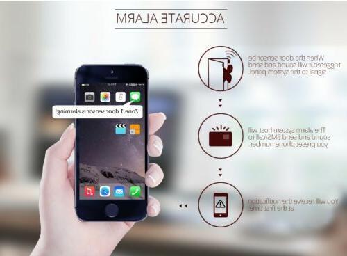 Kerui SMS Home Security Auto System PIR DIY Kit Lot