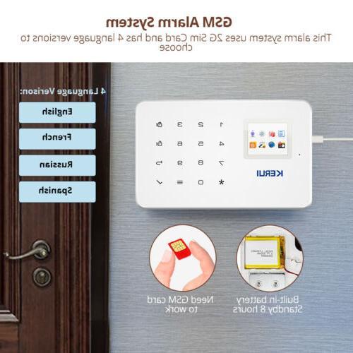 Kerui G18 SMS Home Auto Alarm System PIR DIY Kit