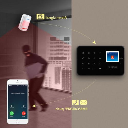 KERUI Home Business Dial Alarm System Panel