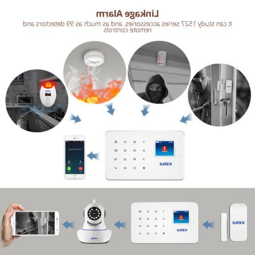 KERUI G18 Home Business Security System Auto Panel