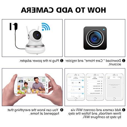 1080P HD IP Vision & Pan/Tilt Baby/Elder/Home Server/SD Card IOS/Android/Mac Home