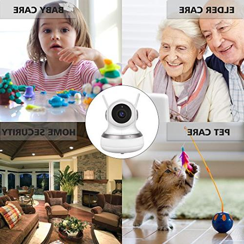 Golden Security GC-13H Wireless 1080P HD with Two-Way Audio,10Meter Baby/Elder/Home Cloud Server/SD Home Security