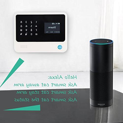 Home Besiness System /Window Contact App Controlled by & iOS ,Compatible with Alexa.