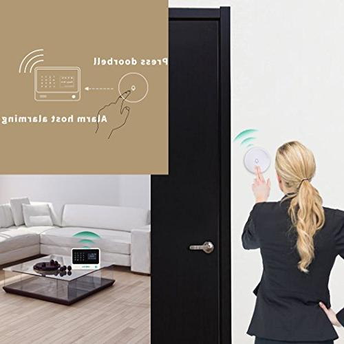 Golden Wireless Home Alarm System Kit /Window Sensors App Controlled by Android & iOS with Amazon Alexa.