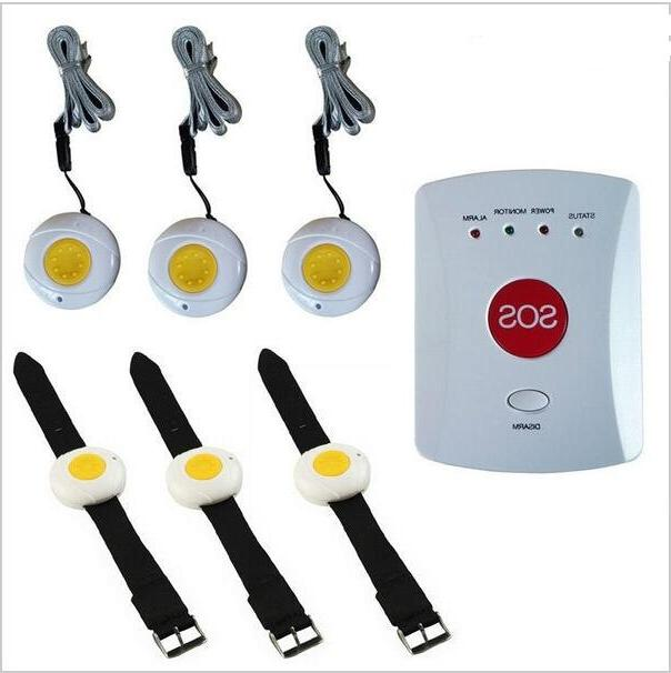 GSM button <font><b>Alarm</b></font> <font><b>system</b></font> SOS button Protect patient disable person