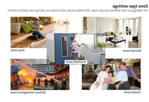 GSM WiFi Android IOS Home Business Security Doorbell