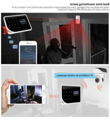 GSM WiFi Alarm Android IOS Home Doorbell
