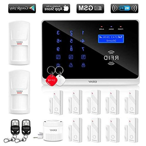 gsm wifi home security alarm
