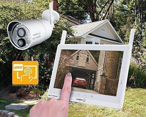 Sequro Plus 1080P Wireless Long IP66 Outdoor Monitor, Home, Barn,